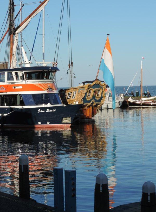 Im Hafen von Volendam, Holland