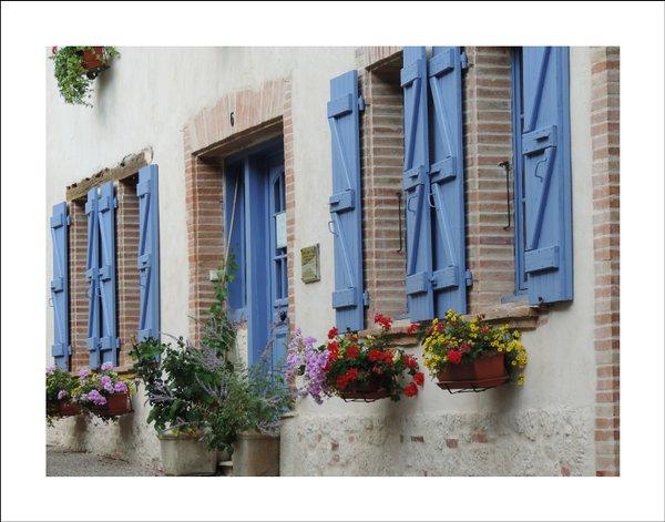 Hausfront in Beaumont de Lomagne